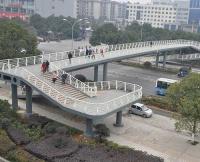 公司承建的人行天桥