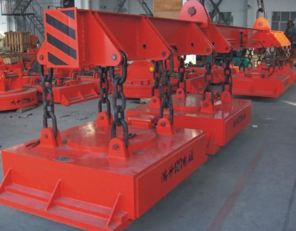 北京MW22系列吊运捆扎工字钢专用起重电磁铁
